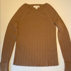 Treasure & Bond ribbed crew neck pullover sweater